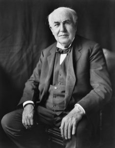 Thomas Edison - after whom the city was named.