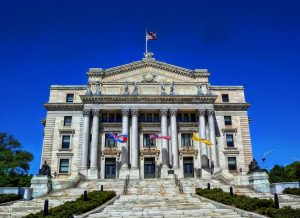 New Jersey courthouse.