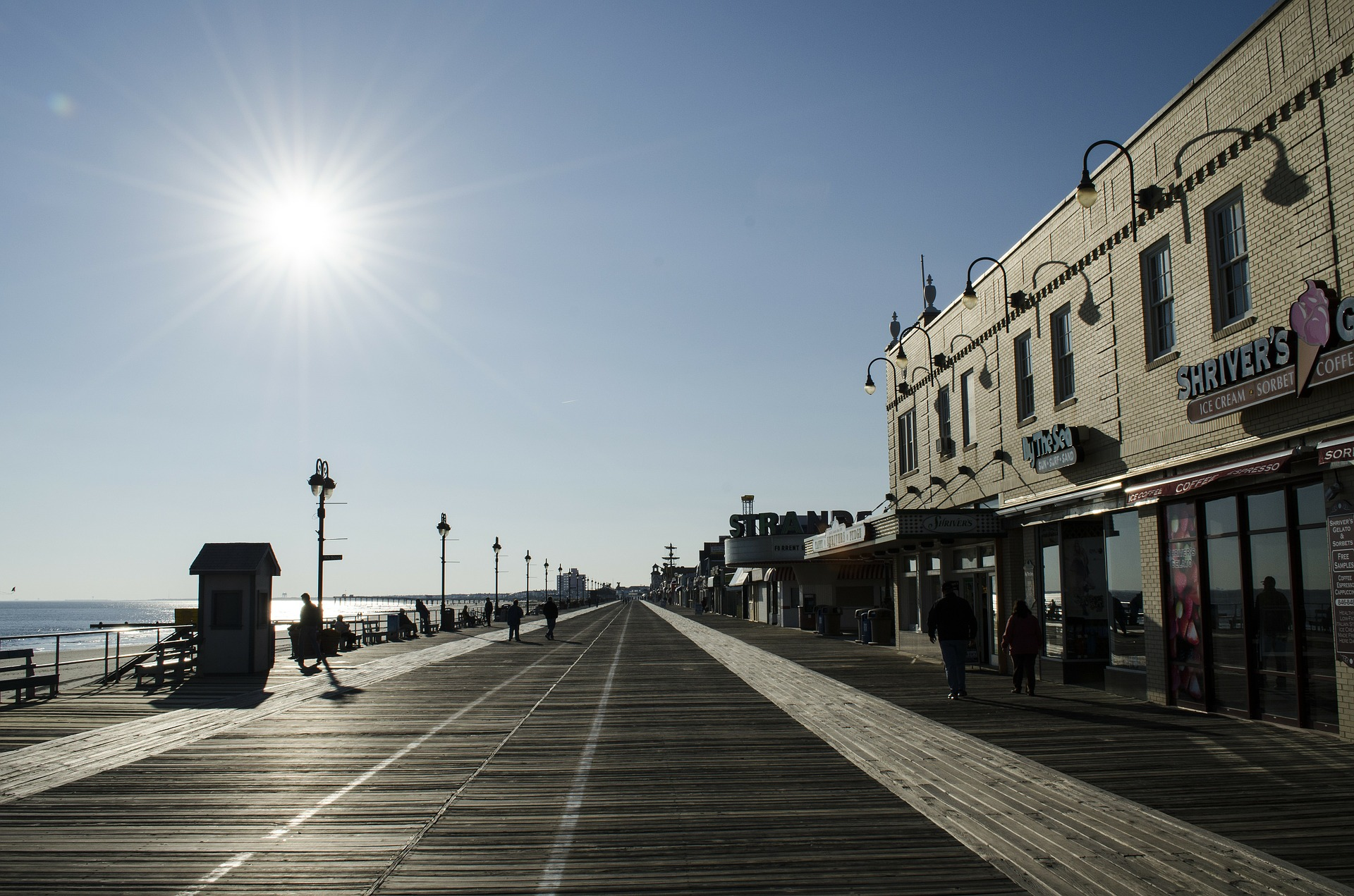 Jersey Shore - one of the most famous things in New Jersey